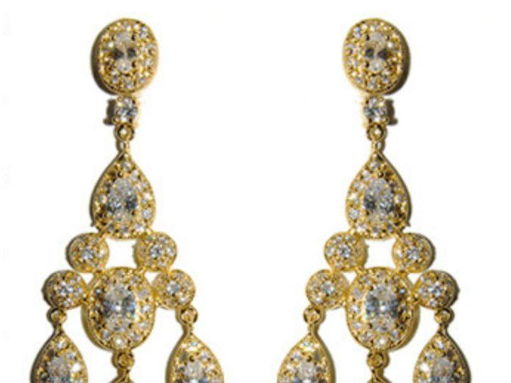 Tmx 1499963388958 1 Armania Sassy Chandelier Cubic Zirconia Cz Faux  Sierra Madre, CA wedding jewelry
