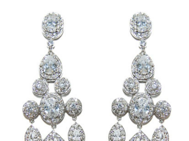 Tmx 1499963422037 1 Ariana Vintage Sassy Chandelier Cubic Zirconia C Sierra Madre, CA wedding jewelry