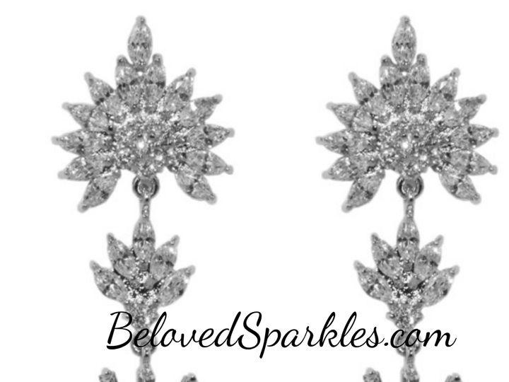 Tmx 1499963526749 1 Rori Cubic Zirconia Cz Faux Diamond Art Deco Dan Sierra Madre, CA wedding jewelry