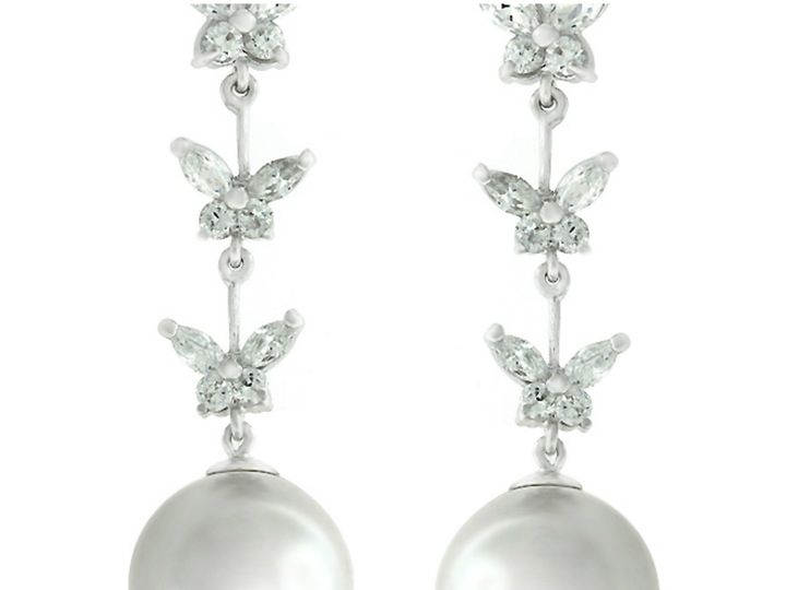 Tmx 1499963636437 1 Hiroko Butterfly Large White Stimulate Faux Pear Sierra Madre, CA wedding jewelry