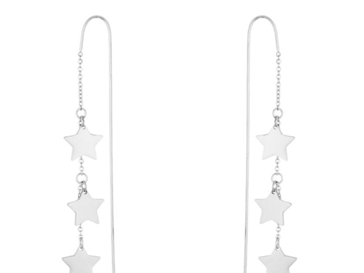 Tmx 1499963658452 1 Marylou Stainless Steel Star Threaded Drop Dangl Sierra Madre, CA wedding jewelry