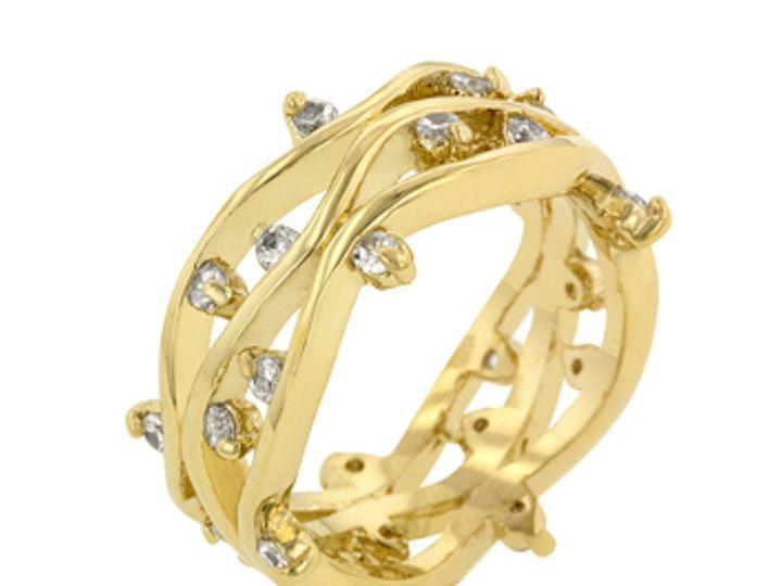 Tmx 1499963782842 1 Jaspreet Golden Vine 1 Carat Cubic Zirconia Cz F Sierra Madre, CA wedding jewelry