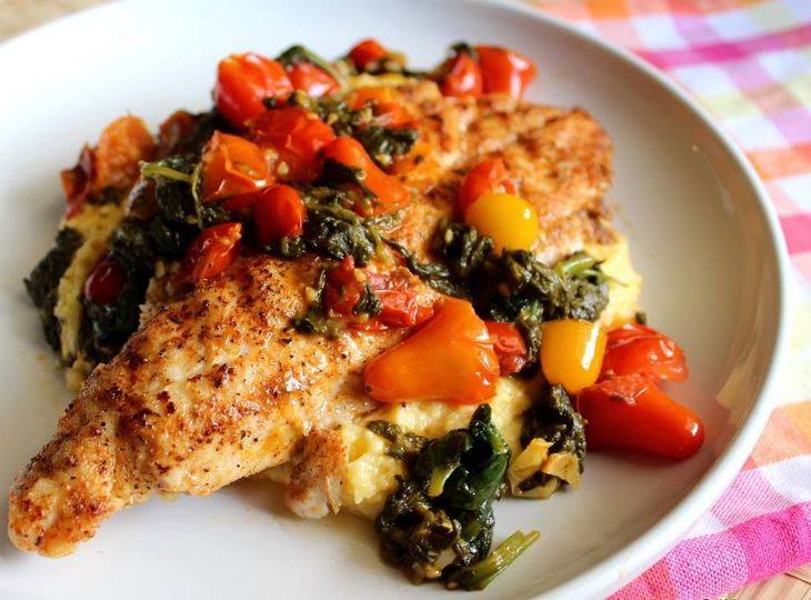 Catfish and grits recipe