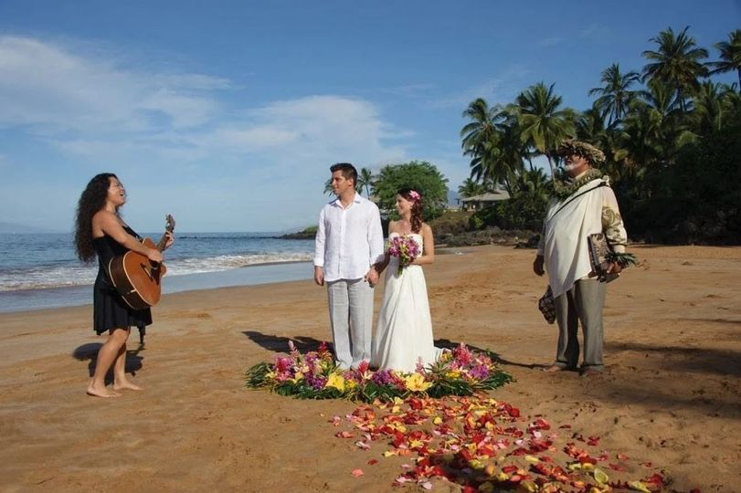 A destination wedding in Hawaii