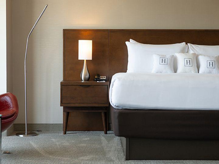 Tmx Harborside Hsuite Loft Bed Red Chair 51 1992097 160434482638588 Oxon Hill, MD wedding venue