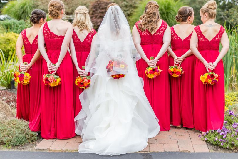 Bouquets of the bridal