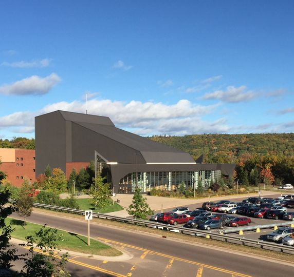 The Rozsa Center for the Performing Arts is located on the campus of Michigan Tech University, and...