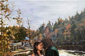 Event Painting by Julie