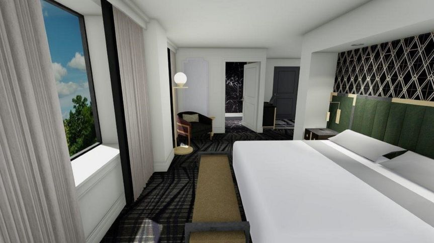 Luxurious guest rooms