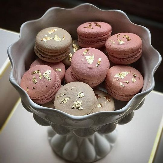 French Macarons in a variety of flavors to choose from