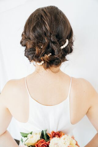 Up do for Jenny's Wedding