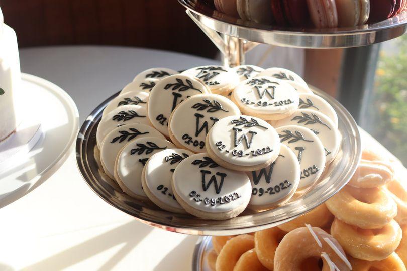 Custom made cookies