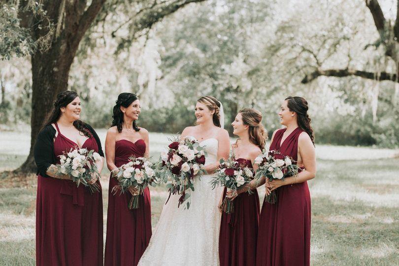 Arianes Bridal Party