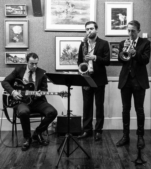 jazz trio bw