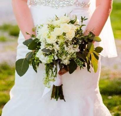 Soft White Handtied Bouquet