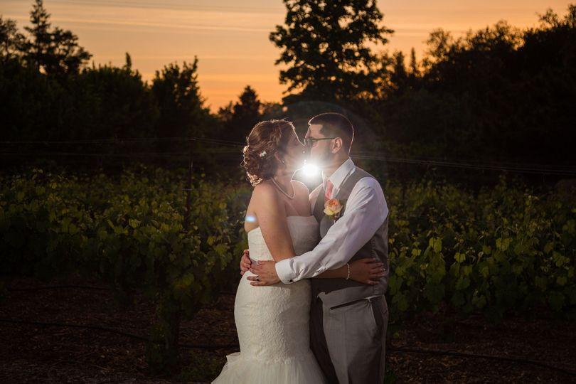Megan & David   Flower Farm Inn, Loomis, CA Danielle Alysse Photography
