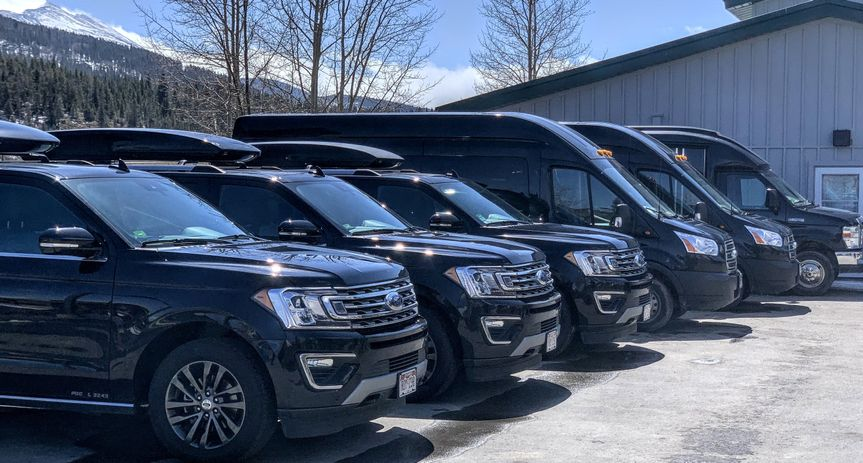 SUVs and Van service available