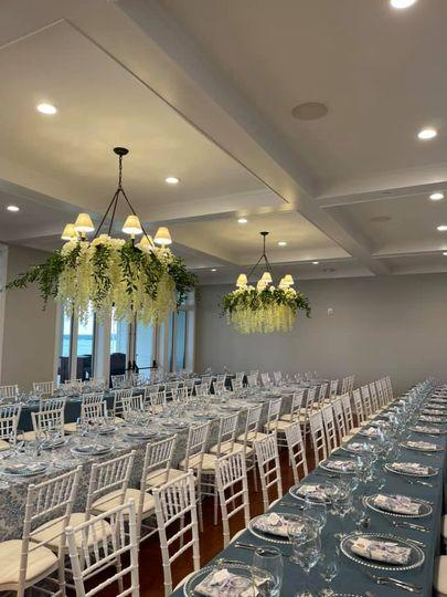 First ever wedding reception!