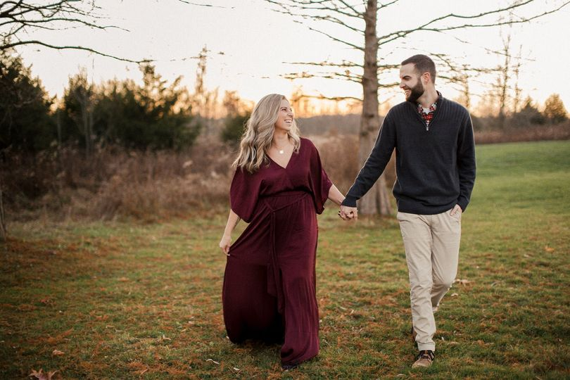 Ashley and Grant engagement session