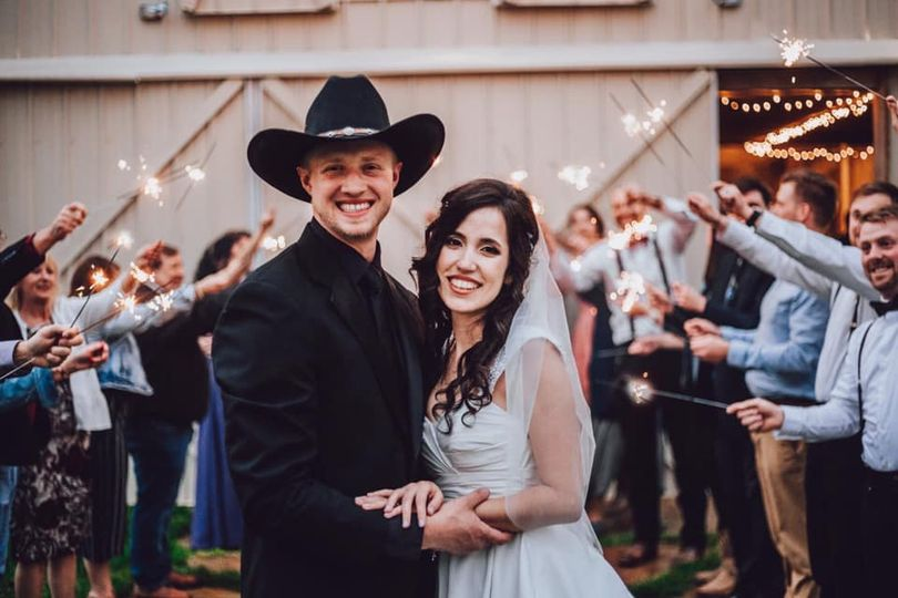 Laural Mill wedding ceremony