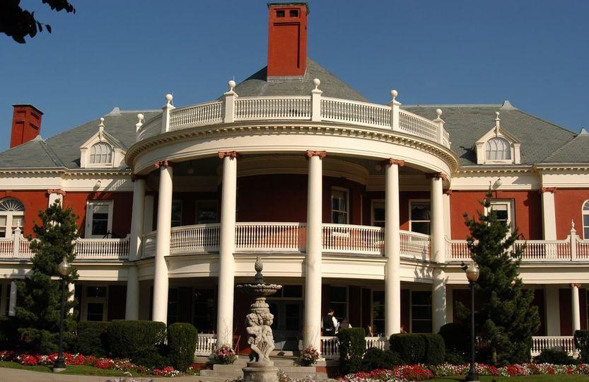 The Roger  Williams casino building