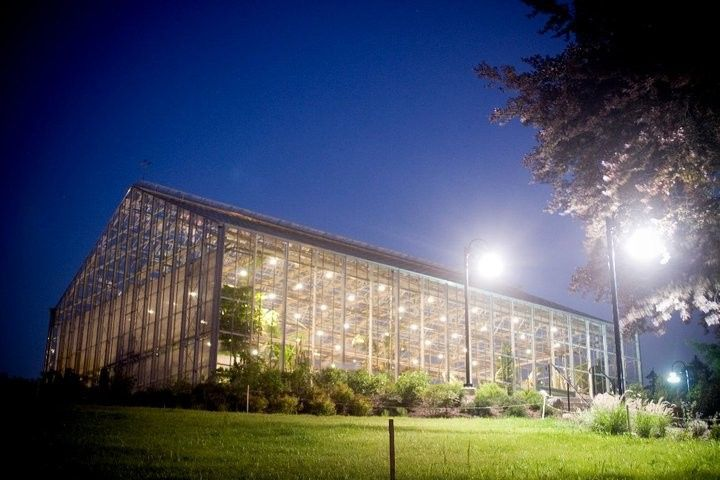 The Roger  Williams botanical building