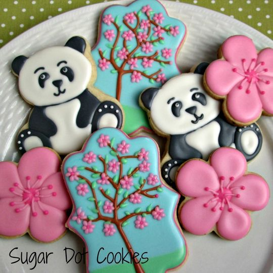 sugar cookies custom decorated royal icing washing