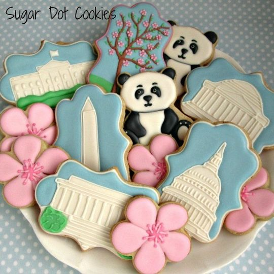 sugar cookies decorated custom royal icing frederi