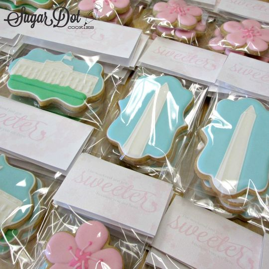 sugar cookies decorated royal icing washington dc