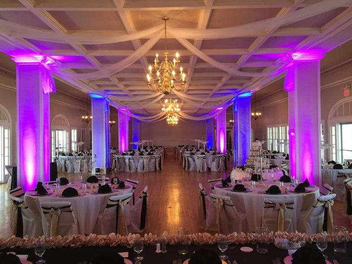 Tmx 1456549788830 Purple  Blue Pillar Uplighting Erie, Ohio wedding eventproduction