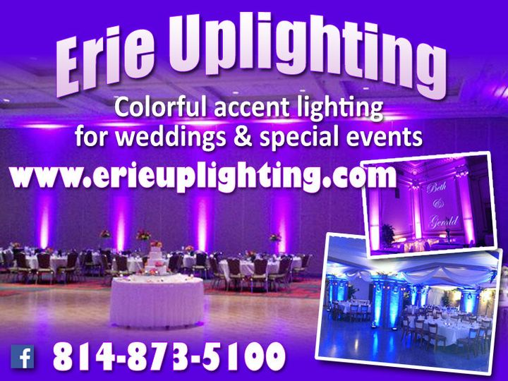 Tmx 1456549835333 Erie Uplighting Purple Logo Erie, Ohio wedding eventproduction