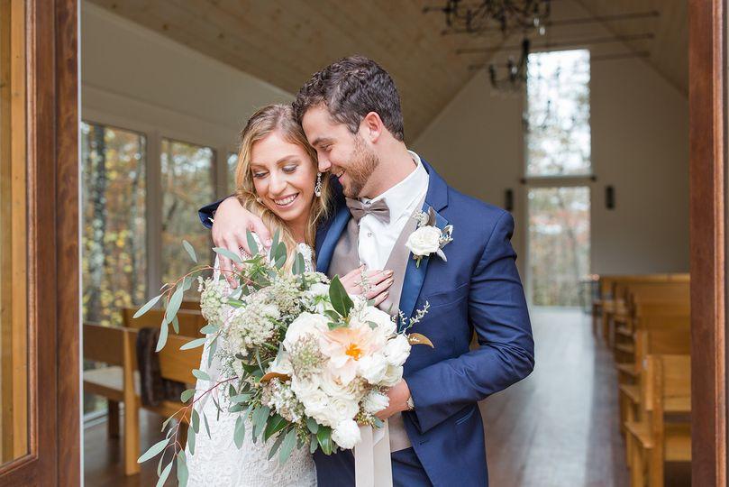 Couple in chapel