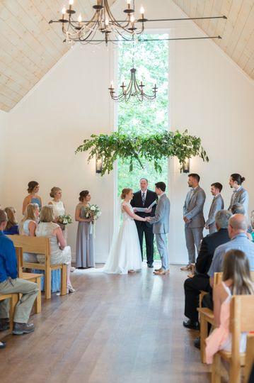 Ceremony in chapel