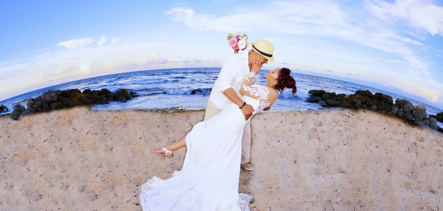 Tony & Maria Beach Wedding