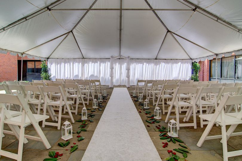 Wedding setup