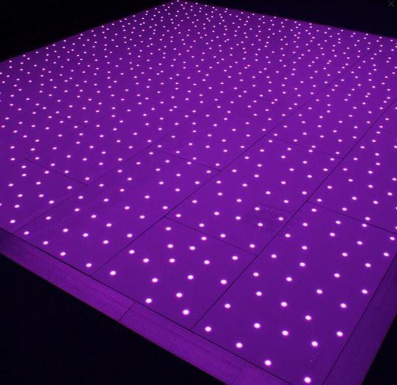 Starlit Pixel Dance Floor