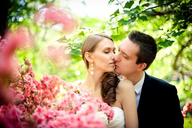 Central park kiss