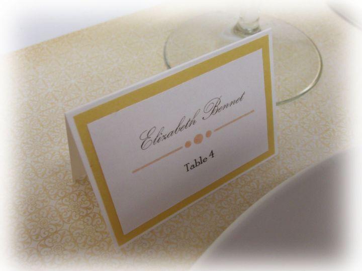 Tmx 1415215143825 Place Card 1 Conway, SC wedding invitation