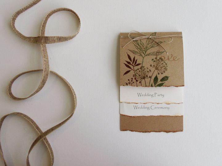 Tmx 1415215192433 Recycled Paper Program 1 Conway, SC wedding invitation