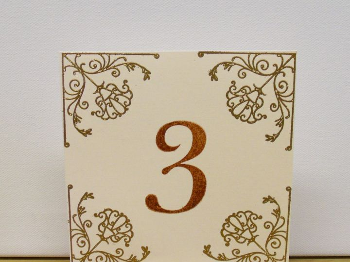 Tmx 1415215254553 Square Table Number 1 Conway, SC wedding invitation