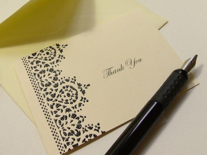 Tmx 1415215307828 Thank You Card 5 Conway, SC wedding invitation