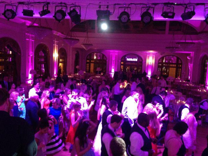 reception dancefloor
