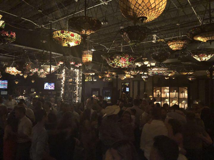 Antique Art Bar reception