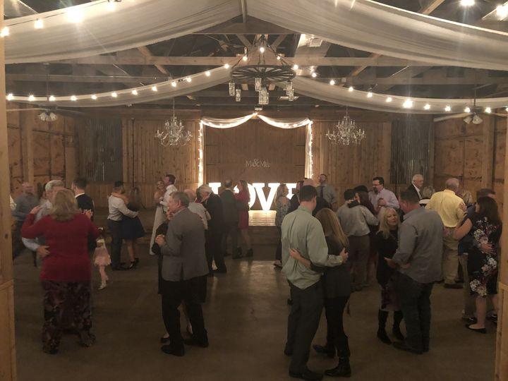 Pine Lake Ranch reception