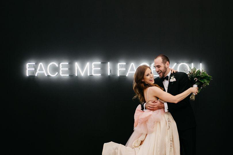 Intimate wedding at PAM