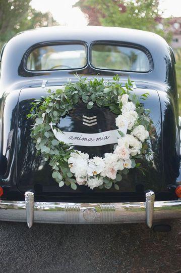 Get-away car decoration
