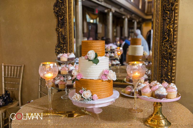 Sarah & Ben's Cake display