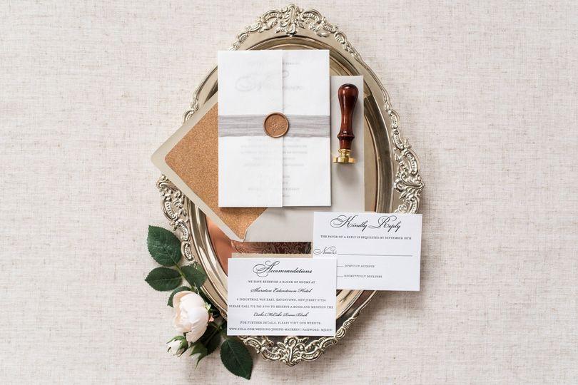 Elegant and Classic Invitation