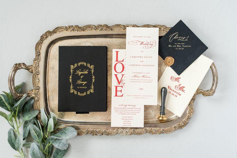 Custom Boxed Invitations