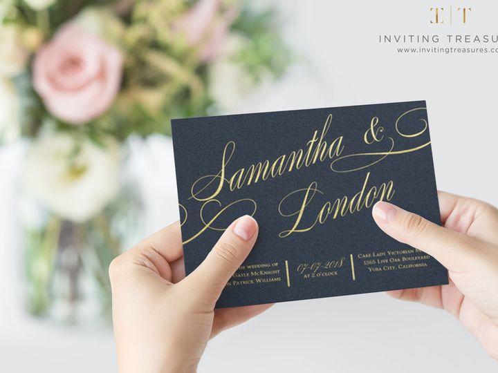 Tmx 1517884064 Bd62dd91a5fdebc8 1517884061 57f3fc6ec7c6210f 1517884061620 2 All Shimmer Weddin New Providence, NJ wedding invitation